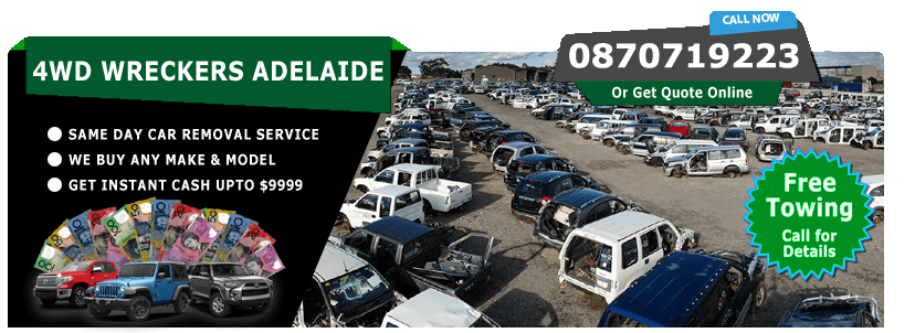 4WD Wreckers Adelaide